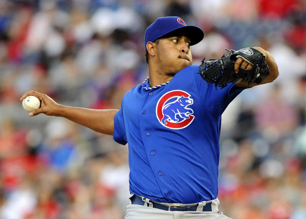 Chicago Cubs relief pitcher Carlos Marmol.
