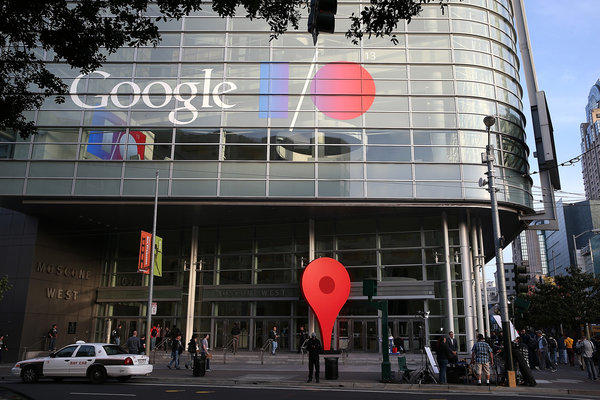 Google I/O developers conference in San Francisco