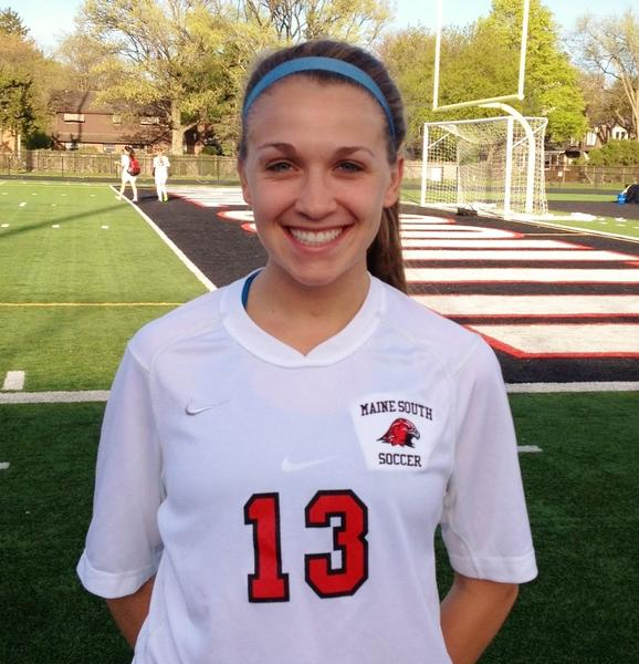 In a great senior season, Maine South soccer player Alli Curry has been an offensive asset for the Hawks.