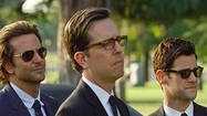 "In ""The Hangover: Part III,"" Justin Bartha's Doug isn't just lost or sidelined while his pals and brother-in-law deal with constant mayhem. He's kidnapped and an organized crime boss threatens his life."