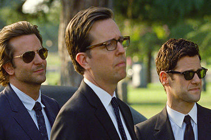 Justin Bartha (right) in 'The Hangover: Part III'