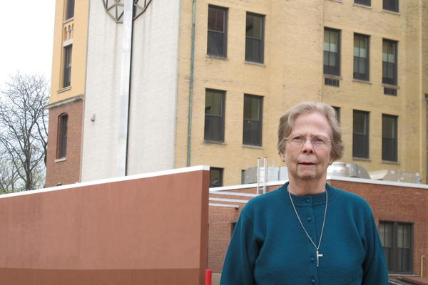 Sister Peggy McDonnell, a Catholic nun who lived in a Winnetka coach house for 11 years, says she hopes the village will reconsider affordable housing some day.