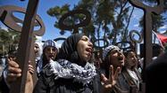 "RAMALLAH, West Bank -- Palestinians held rallies and protests Wednesday to commemorate 65 years of what has come to be known as the <a href=""http://en.wikipedia.org/wiki/Nakba_Day"">""nakba,""</a> or catastrophe, a reference to their displacement in the first Arab-Israeli war in 1948."