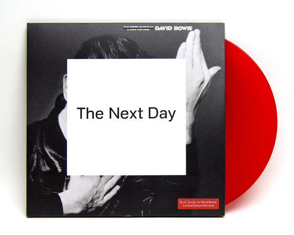 "Paul Smith chose the particular shade of red used in the limited-edition vinyl pressing of David Bowie's album ""The Next Day,"" ($50) which launches May 17, 2013."