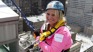 Highwood resident rappels theWit Hotel for lung health