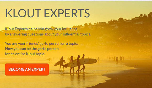 Klout Experts