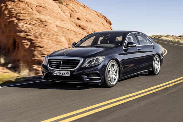 mercedes benz introduced the all new 2014 s class though its dimensions