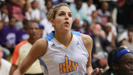 Elena Delle Donne needed just one touch to start showing her stuff in the WNBA.
