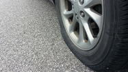 "<span style=""font-size: small;""><span>Vandals went on a tire slashing spree in a northeast Wichita neighborhood.  Wichita Police are investigating several cases and a homeowner's association sent out a warning to residents.</span></span>"