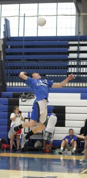 Maine East volleyball player Maciek Otfinowski appreciates the opportunities he's had because of his father's sacrifices.