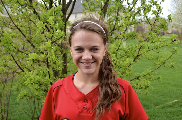 Ryanne Rokos, a softball player for Batavia High School, has found success on the field and in the classroom.