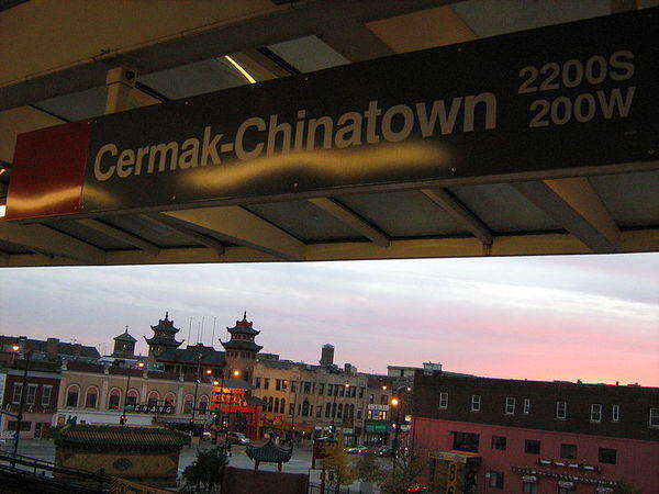 The Cermak-Chinatown Red Line station will shut down May 19 for five months for slow zone repairs.