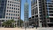 "Downtown sculpture ""Tower of Light"" getting $50,000 makeover"