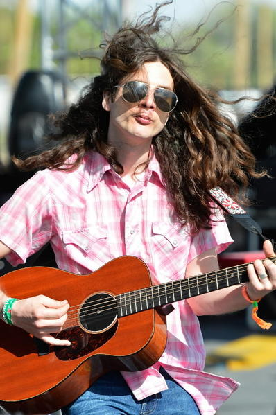 Musician Kurt Vile performs at Coachella Valley Music & Arts Festival earlier this year.