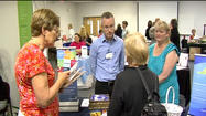 Hundreds turned out for an event in Bedford Tuesday, to meet with employers who are anxious to hire.