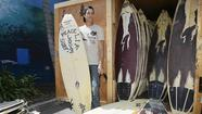 After settling a lawsuit against Abercrombie & Fitch and Hollister Co., Robb Havassy ended up with 365 surfboards.