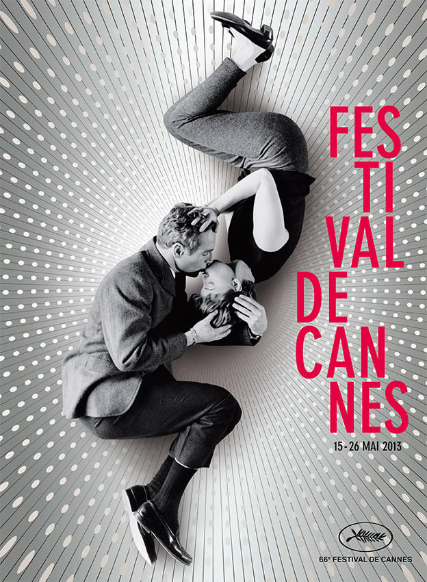 The 2013 poster for the Cannes Fil Festival.