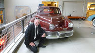 "<span style=""font-size: small;"">LAPORTE — Australian Brendan Edgerton came to LaPorte on his worldwide trip to see every one of the 47 Tucker 48 automobiles still in existence.</span>"