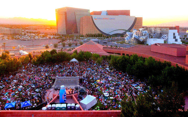 The Clark County Amphitheater in downtown Las Vegas will host the Jazz in the Park concert series.