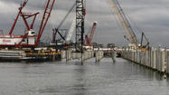 WASHINGTON--The Senate approved a bill Wednesday that would increase funding for port projects in Los Angeles and elsewhere, shore up defenses against Sandy-like superstorms and study ways to better prepare the country for more extreme weather events.