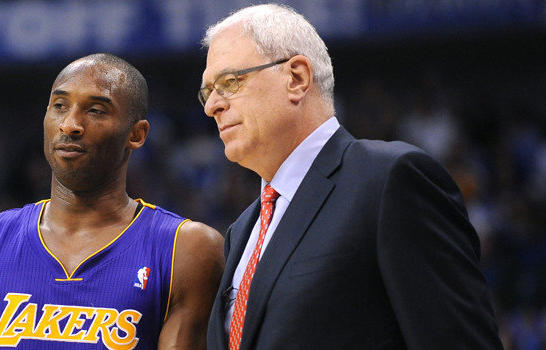 "Former Lakers Coach Phil Jackson calls superstar Kobe Bryant a ""hard-headed learner"" in his new book."
