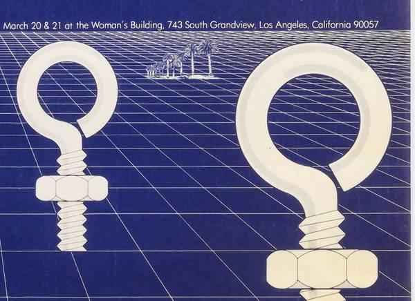 "In ""Everything Loose Will Land"": Sheila Levrant de Bretteville's Women in Design 1975 poster."