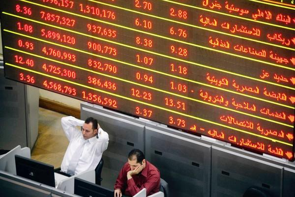 Daily volume on Egypt's stock exchange has plummeted from 1 billion Egyptian pounds — about $143 million — after the 2011 uprising to about 250 million pounds today. Investors are skittish about the nation's new leaders.