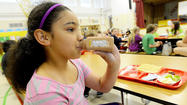 Cascade Elementary School fourth-grader Kiarra Wilson will occasionally get strawberry milk for lunch but said chocolate milk is her favorite.