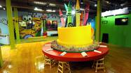 Color is everywhere at the expanded and newly remodeled Crayola Experience — saturated, bright, eye-popping, primary colors.