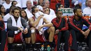 MIAMI — The Bulls ended their season Wednesday night with a 94-91 playoff loss to the Heat as they began it, in short-handed fashion.