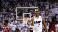 "Critics joke about the Heat's ""Big Three'' actually being the ""Big Two'' because Chris Bosh doesn't deserve to be in the same conversation with LeBron James and Dwyane Wade."