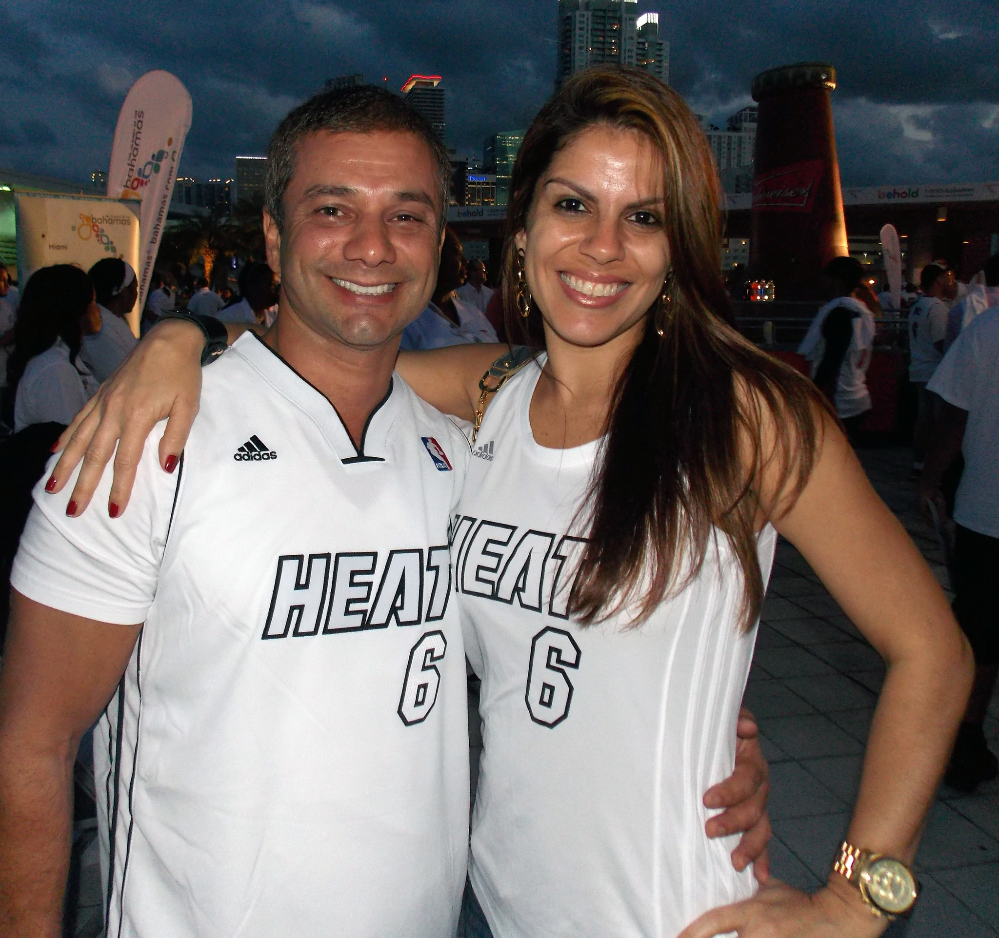 White Hot Heat fans - Heat Victory