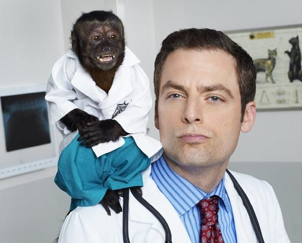 "NBC's ""Animal Practice,"" starring Justin Kirk, was one of the many casualties of the 2012-13 TV season."