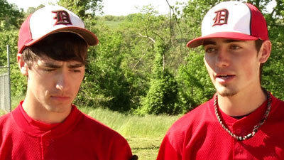 Athletes of the Week: Dustin and Kamryn Johnson, Dora Baseball