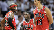 MIAMI — If a special Bulls season defined by perseverance and patience was going to end Wednesday night, it was going to end like this.