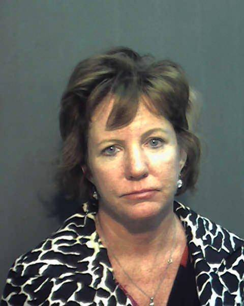 Leslie Schaub Cowart, 50, was arrested on prostitution charges.