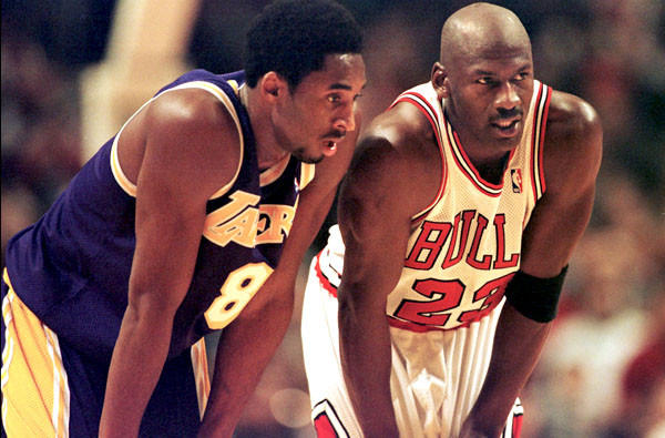 Kobe Bryant and Michael Jordan, two great basketball players that former coach Phil Jackson had a few things to say about in his new memoir.