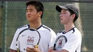 Maranatha High boys' tennis just comes up short versus Santa Fe