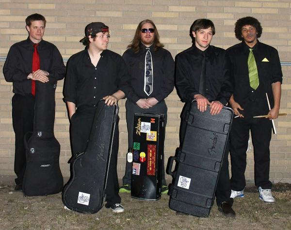 The Gonzo 5, an Aberdeen band