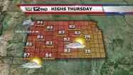 "<span style=""font-size: small;""><strong>The warm spell will continue here in Kansas</strong> with highs running 10-15 degrees above average for Thursday through Sunday.</span>"