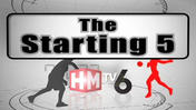 The Starting 5: May 16, 2013, part 1