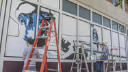 Photo Gallery: Brass Band mural on Main Street