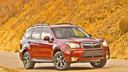 Forester Tops Compact SUV Crash Safety List