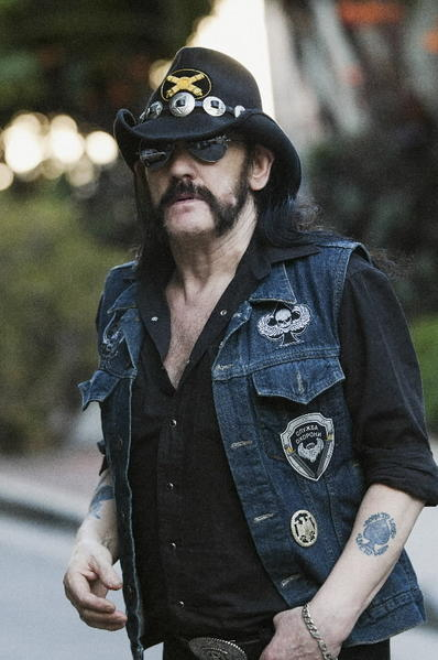Lemmy from the band Motorhead.