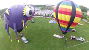 Mini balloon debuts at Turf Valley Preakness festival [Video]