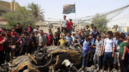 BAGHDAD — Car bombs struck Shiite neighborhoods of the Iraqi capital and a northern city Thursday, killing 16 people, while gunmen in Baghdad shot dead the brother of a Sunni lawmaker, officials said.