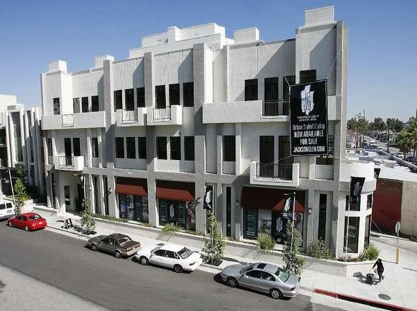 The Residences at Jackson Glen, a new development in Glendale in February.