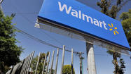 Wal-Mart Stores Inc. reported slight upticks in revenue and profit in its first quarter, but the retail behemoth still missed Wall Street's expectations and watched its stock suffer in morning trading.