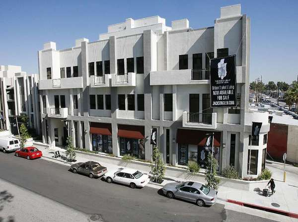 The Residences at Jackson Glen, a new development in Glendale in February.