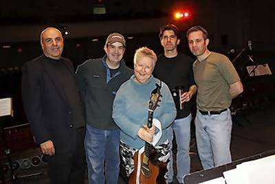 Martin Blanco, David Wheeler, Christine Lavine, Jim Allyn, Rick Brodsky.